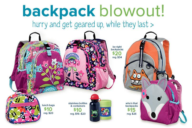 Back To School Deals: Backpack Blowout Sale At Hanna Andersson