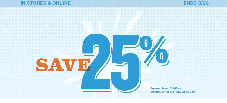 clothing deals new old navy 25 off printable coupon coupon code