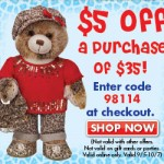 Play Deals: Save $5 Off Your Purchase Of $35 At BuildABear.com