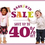 Clothing Deals: Kids & Baby Sale Starts Today At Crazy 8