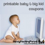 Printable Coupons: Round-Up Of Baby & Big Kid Coupons