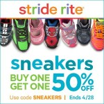 Shoe Deals: Stride Rite Sneaker BOGO Promotion (4-Days Only)