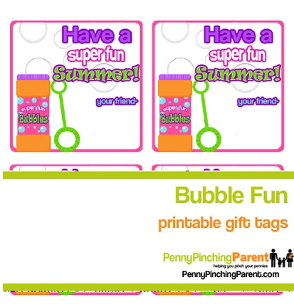 Kids end of the year gift ideas bubbles homemade bubble wands downloadbubbletags negle Gallery