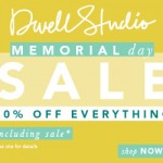 Baby & Kids Deals: Save 20% Off Everything This Memorial Day At Dwell Studio