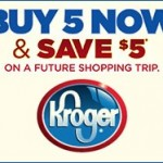 $25 Kroger Gift Card Giveaway + Kroger Buy 5, Save $5 June Value Event