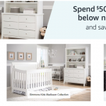 Nursery Deals: Spend $500 On Select Nursery Collections Save $100 {Ends 10/22/17}