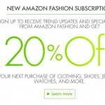 Kids' Clothing & Shoe Deals: Sign-Up For New Amazon Fashion Subscription & Receive 20% Next Purchase*
