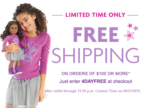 AmericanGirlFreeShipping