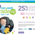 Baby & Kids' Gear Deals: One & Only Car Seat Trade-Up Event At Babies R U & Toys R Us
