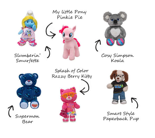BuildABearNewProducts