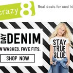 Back To School Deals: Crazy 8's 2017 Denim Collection