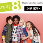 Kids' Clothing Deals: Up to 70% Off Entire Store + 50% Off Halloween at Crazy8 {Ends 10/16} Expired