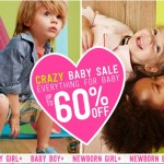 Baby & Kids' Deals: Baby Sale Going On Now At Crazy 8