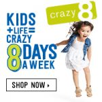 Kids' Clothing Deals: 40% Off Entire Purchase At Crazy 8 (Ends 12/7)