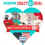 Today Only: Crazy 8 Online Deal, Styles Start At 88¢!!
