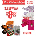 This Weekend Only: $8.88 Sleepwear At Crazy 8