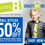 Today Only: 50% Off Fall Styles At Crazy 8