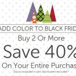 Black Friday Deals: Buy 2, Take 40% Off Sitewide At Crocs.com Promo Offer (Valid 11/24-11/27) {Expired}