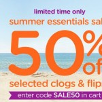 Kids Shoe Deals: 50% Off Select Clogs and Flips at Crocs.com (Limited Time Offer)