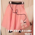 Kid's & Family: Our DIY Girl's Poodle Skirt