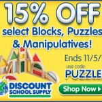 Educational & Learning Deals: Save On Puzzles, Blocks & Manipulatives At DiscountSchoolSupply.com
