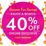 Kids' Deals: Save 40% On Select Styles At Disney Store With Code