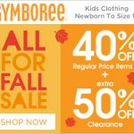 Kids' Clothing Deals: Gymboree Fall Sale Going On Now- 40% Off Regular Price Items {Valid 10/29}