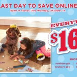 Kids' Clothing Deals: Last Day To Save Online During Gymboree's $16.99 & Under Sale