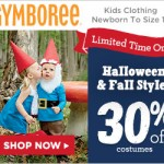 Halloween Deals: Gymboree Halloween Shop is 30% off!