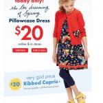 Today Only: $20 Pillowcase Dresses At Hanna Andersson