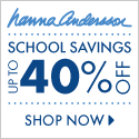 Back To School Deals: 40% Backpacks At Hanna Andersson (Limited Time Offer)
