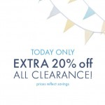 Today Only: Extra 20% Off Clearance At Hanna Andersson