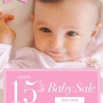 Baby Deals: Extra 15% Off Baby At Hartstrings (Promo Code)