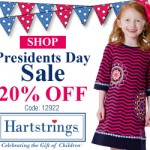 Kids' Clothing Deals: President's Day Sale At Hartstrings