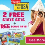 Kids' Learning Deals: Try Highlights' Which Way USA Free