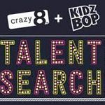Kids' Music: Crazy 8 Announces KIDZ Bop + Crazy 8 Talent Search