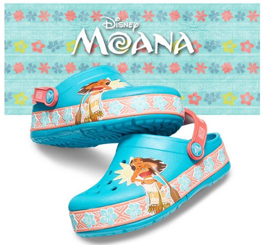 0707b0afa4211e Kids  Shoes  Calling All Moana Fans! Kids  CrocsLights Disney Moana ...