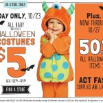 Today Only: $5 Halloween Costumes In-Store At Old Navy