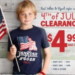 Clothing Deals: Latest OshKosh B'gosh Printable Coupons + Clearance Deals