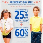 Kids' Clothing Deals: President's Day Deals At OshKosh B'gosh + 25% Off Coupon