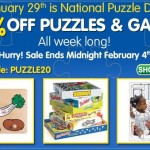 Play & Learning Deals: Save 20% On Puzzles & Games For A Limited Time