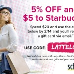 Family Clothing Deals: 5% Off + Starbucks Card Offer From Schoola (Promo Code)