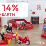 Kids' Play Deals: Celebrate Valentine's At Step2 With 14% Off + Discounted Shipping Offer (Promo Code)