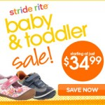 Kids' Shoe Deals: Baby & Toddler Shoe Event Going On At Stride Rite