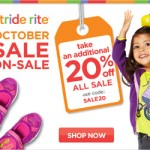 Kids' Shoe Deals: Save An Extra 20% Off Sale Items At Stride Rite (promo code + limited time)