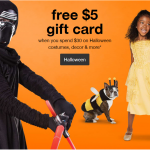 Halloween Costume Deals: Free $5 Gift Card When You Spend $30 on Halloween Costumes, Decor & More at Target {Ends 10/21}