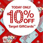 TODAY Only: 10% Off Gift Cards At Target (Valid 12/4/16)