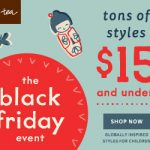 Black Friday Deals: Tea Collection's Black Friday Event Finds For $15 & Under (Valid 11/25-11/26)