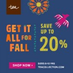 Kids' Clothing Deals: Tea's Get It All For Fall Event…Save Up To 20%