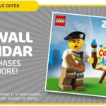Kids' Play Deals: 2017 Exclusive Wall Calendar Offer From LEGO